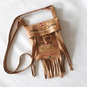 Vintage Native American Fringe Medicine Bag